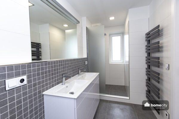 Zrekonstruovaná koupelna se sprchovým koutem
