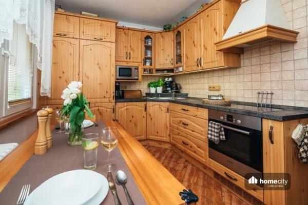 Zrenovovaná kuchyň