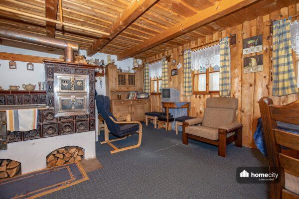 Obývací pokoj chalupy