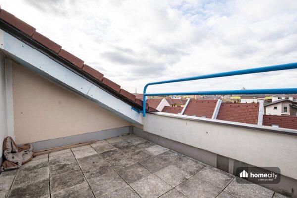 Pohled z terasy